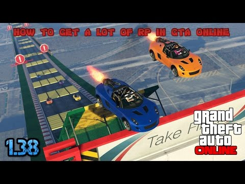 (CheckingFor1.39)How to get a lot of RP in GTA online 1.38 |