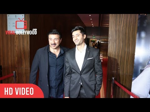 Sunny Deol Grand Entry | Genius Movie Post Shoot Wrap-Up Party