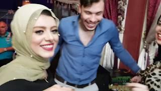 فيديو مميز ل احمد حسن يلبس الدبلة لأخت زينب و احلى رقص