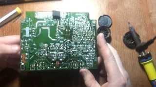 Ремонт монитора LG L204W своими руками, часть 1. Замена электролитических конденсаторов