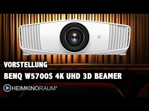 Vorstellung BenQ W5700S 4K UHD 3D Beamer - Der Beamer fürs Wohnzimmer Kino