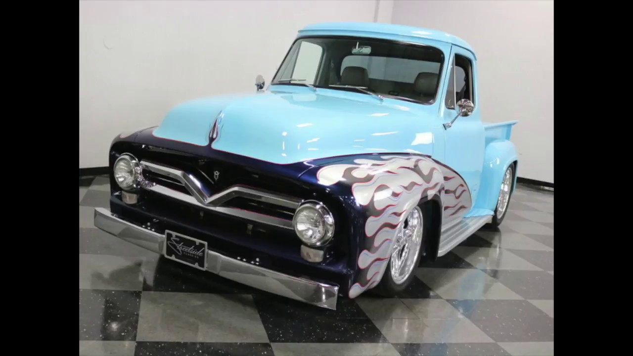1955 Ford F100 Pick Truck Youtube Running Board