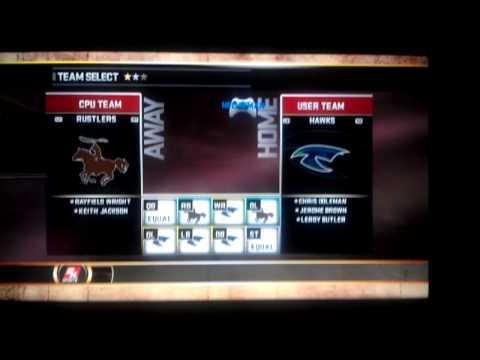 All Pro Football 2K8 multiple team roster trick.