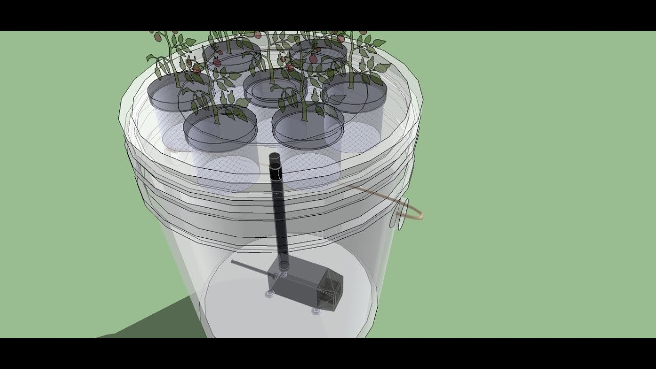 5 Gallon Bucket Aeroponics - The easiest aeroponics sys ...