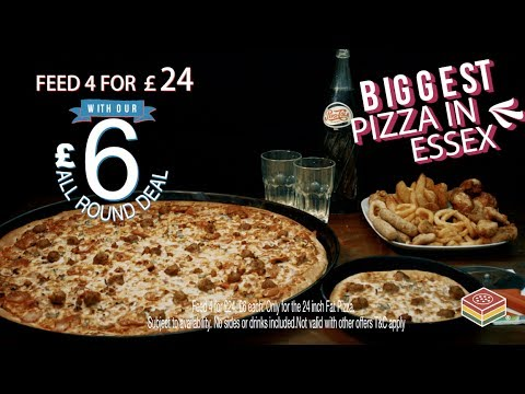 The Fat Pizza 24 Inch Official Advert
