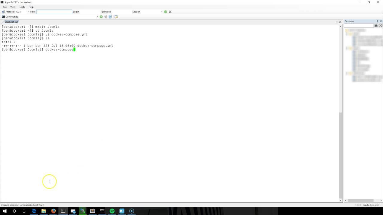 install docker-compose ubuntu 16 04