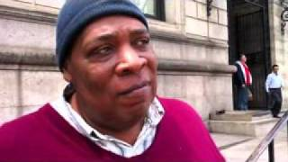 55 year old Homeless Man carries 2 Masters Degrees ( Maurice Johnson )