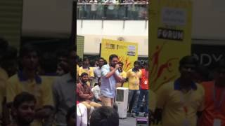Hip hop tamizha stage performance.......In chennai...Mall😎😘