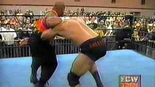 ECW on TNN Mike Awesome vs Taz ECW Title breaking news - YouTube