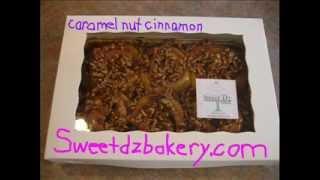 Caramel Nut Cinnamon Rolls By Sweet D'z Express Bakery