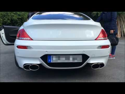 Underground Exhaust BMW 645 ci Stage 3 Sound loud M6 Umbau thumbnail