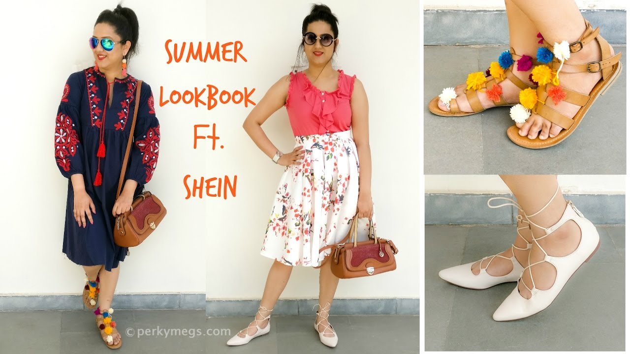 adfaa932a0c5 Summer Lookbook Ft. SHEIN | Perkymegs - YouTube