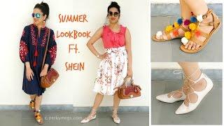 Summer Lookbook Ft. SHEIN | Perkymegs