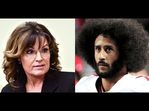 Sarah Palin Rips Colin Kaepernick For Donating $50k To Meals On Wheels