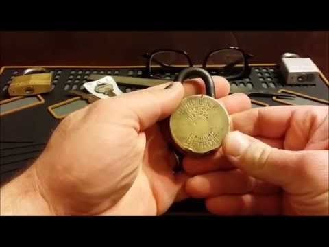 How to make a key blank for an antique / vintage lock Hurd 225