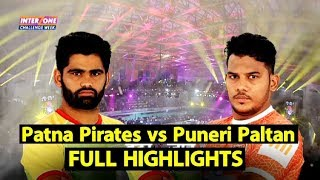 Highlights-Match 101: Patna Pirates vs Puneri Paltan   Sports Tak
