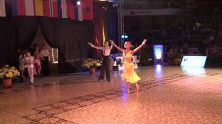 VARADINUM DANCE FESTIVAL 2010 - YOUTH IDSF INTERNATIONAL OPEN LATIN - AWARDS CEREMONY 1