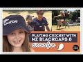 Playing cricket with NZ Blackcaps & circus fun (EP103)