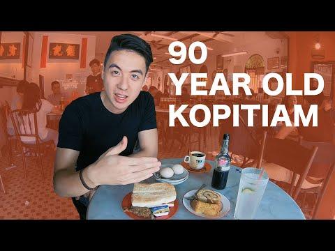 TEA TIME at 90 YEAR OLD Coffee Shop in Kuala Lumpur | Meal Hunter