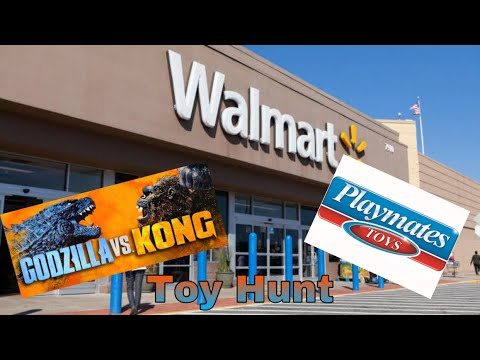 Toy Hunt | Playmates | Godzilla vs Kong Figures
