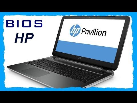 Как запустить биос на hp pavilion g6