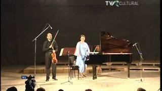 Cristian Ifrim (viola) Maruxa Llorente (piano) Sonatina de Schubert nº1 Op.137, 3º movimiento