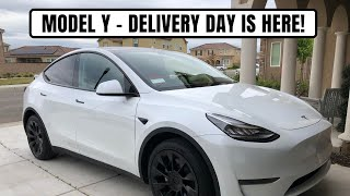 mODEL Y - First one delivered in the Central Valley of CA?