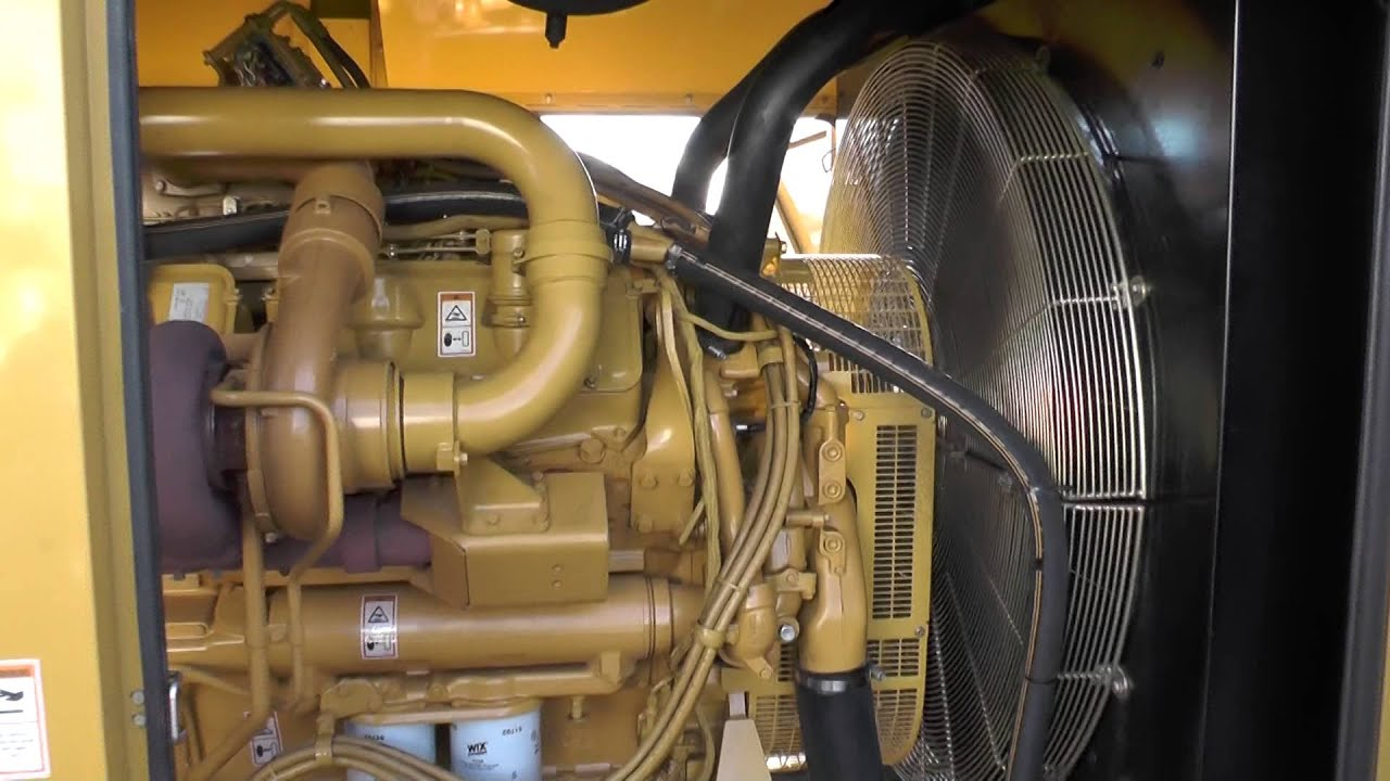 Caterpillar 800 kW Diesel Generator Used Standby Genset