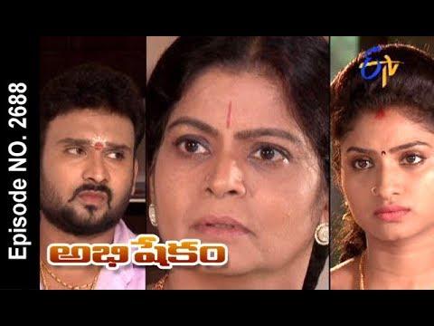 Abhishekam | 29th  August 2017| Full Episode No 2688 | ETV Telugu