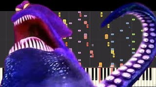 IMPOSSIBLE REMIX - Kraken Theme - Hotel Transylvania 3 - Piano Cover