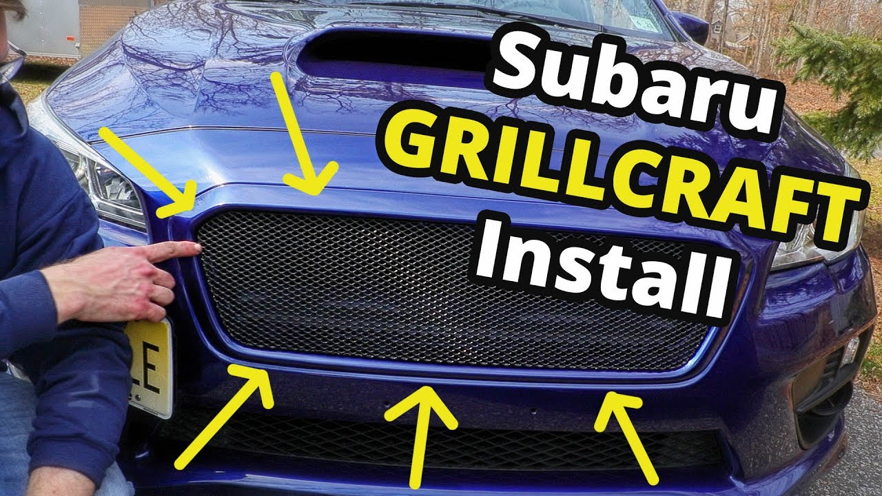 GRILLCRAFT MX Series | Install & Review: Subaru Impreza WRX / STI 2015 2016  2017