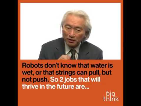Jobs of the future will be what robots can't do