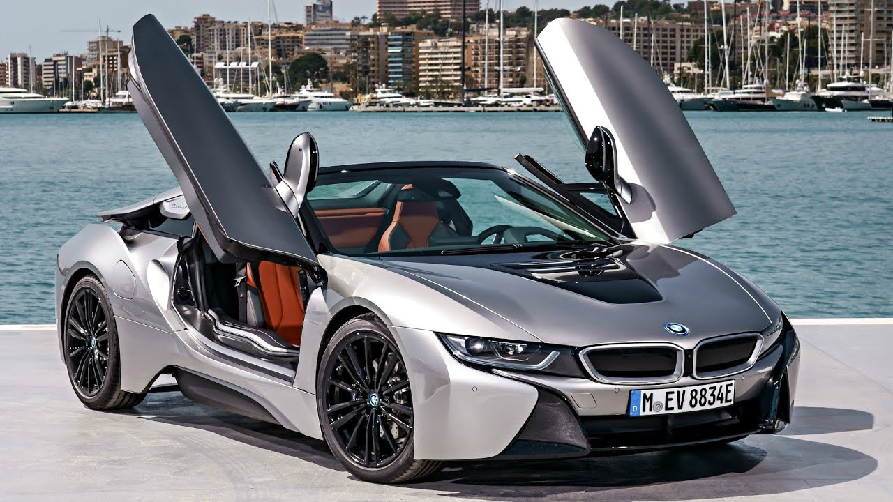 2018 BMW I8 Roadster Donington Grey