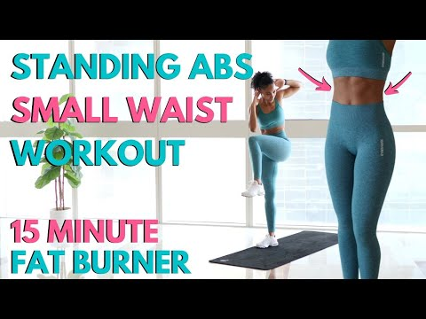 Sweaty Standing Abs Workout at Home