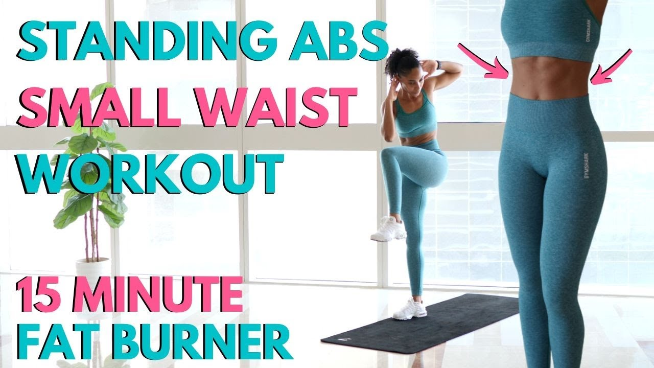 STANDING ABS & SMALL WAIST // HOURGLASS FIGURE // LOSE BELLY FAT ...