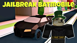 Batmobile Bugatti in Roblox Jailbreak!