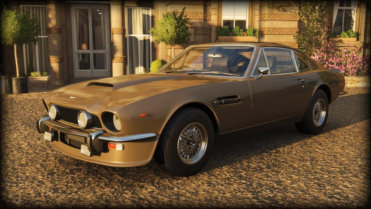Forza Horizon 4 1986 Aston Martin V8 Vantage 007 Version Youtube