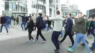 Leeds United Riot In Millwall | LUFC Chants