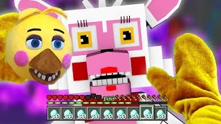 Realistic Minecraft - BECOMING TOY CHICA IN MINECRAFT !? - (Minecraft Roleplay)