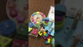 Combo đồ chơi gỗ thông minh cho bé từ 6m