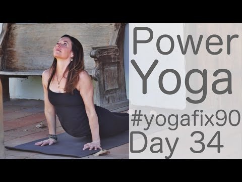 Power Yoga with Butterflies Day 34 Yoga Fix 90 with Fightmaster Yoga