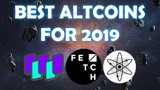 My TOP 3 Altcoins for 2019 (Potential 20x)