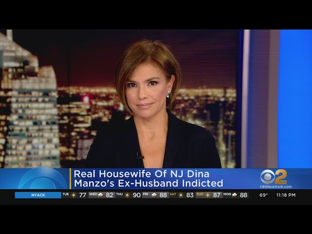 Real Housewife Of New Jersey Dina Manzo\'s Ex-Husband Indicted