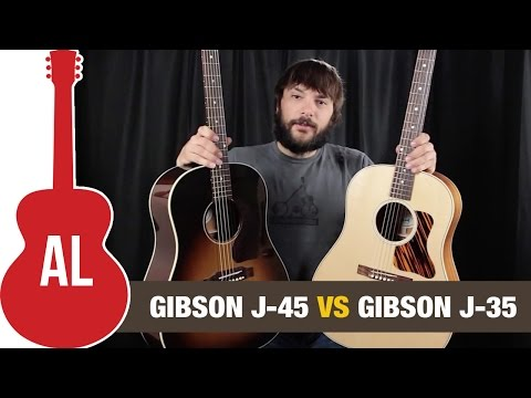 Gibson J45 Vs J35: Can You Hear The Difference?