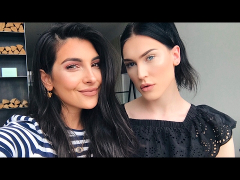 Paint the Youtuber! | Anna Nooshin | JessieMaya