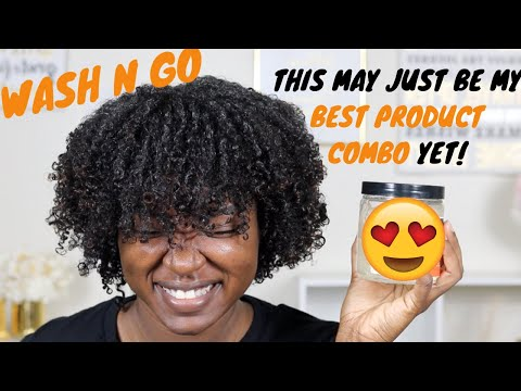 BEST Wash N Go Combo for Type 4 Hair  Natural Hair