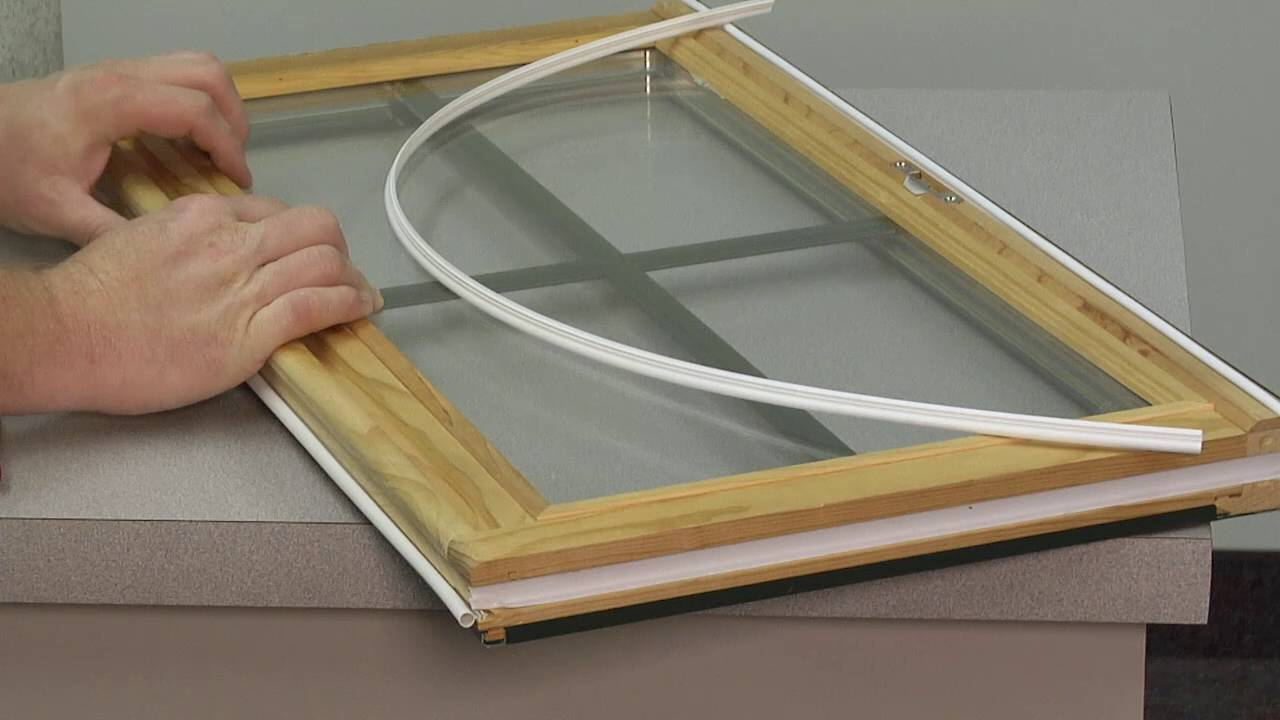 How To Replace the Sash Weatherstrip in a D-Series Wood ...