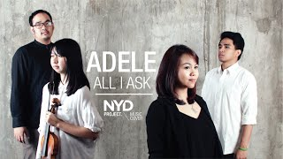 all i ask adele   livia m dede laturake joy cover   nyd project