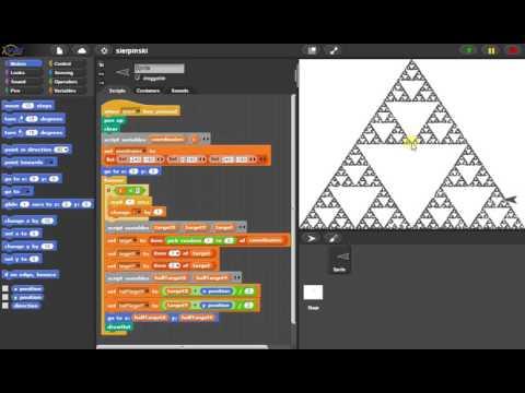 SNAP: Sierpinski triangle