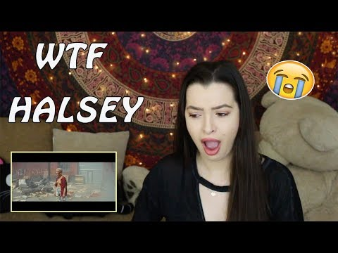 Sorry - Halsey MV REACTION I'm confused help